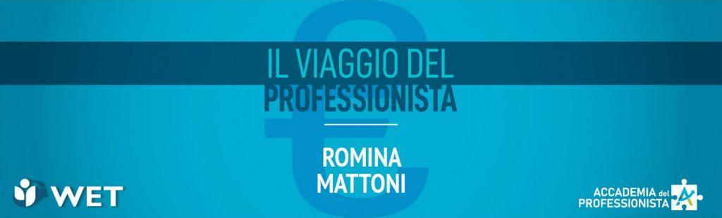 Intervista a Romina Mattoni - Accademia del Professionista